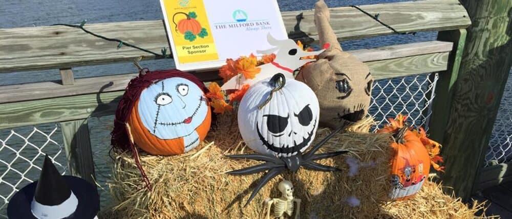 Pumpkins on the Pier
