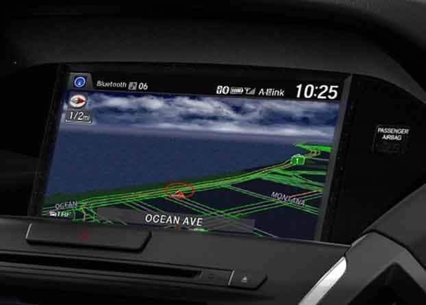 2018 Acura MDX Navigation System