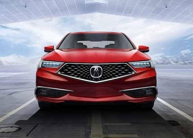 2018 Acura TLX Front End Body