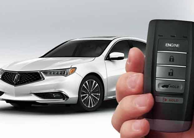 2018 Acura TLX Remote Start System