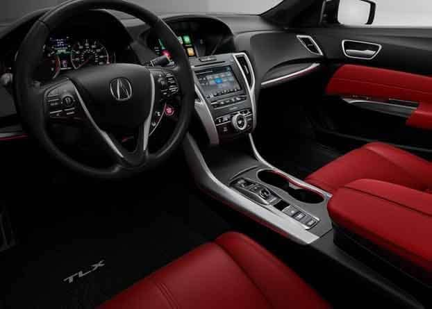 2018 Acura TLX Sport Interior Dashboard and Seating