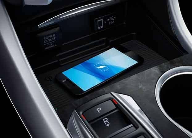 2018 Acura TLX Wireless Charging Station for Mobile Phone