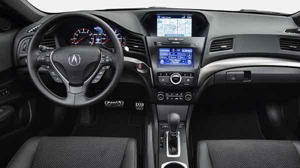 Acura ILX Dashboard Technology Features