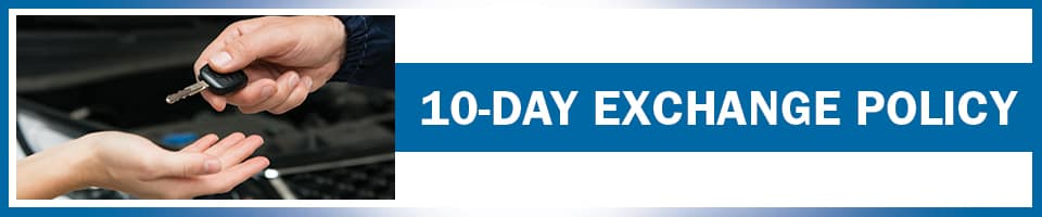 10-Day Exchange Policy