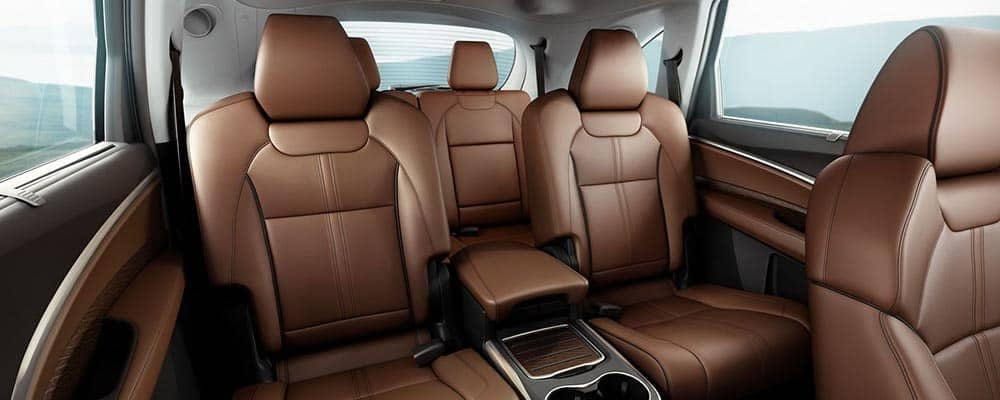 2018 Acura MDX Interior Leather Seating