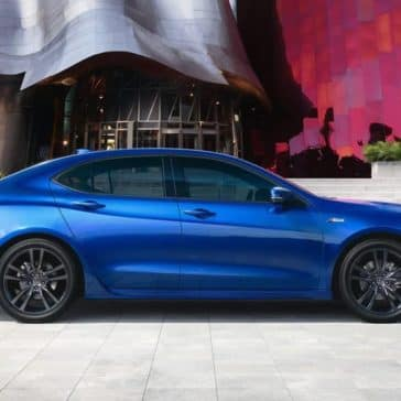 2019 Acura TLX A Spec in Night Blue Pearl