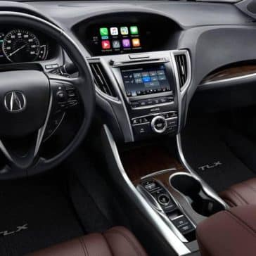 2019 Acura TLX SH AWD Front Interior and Dashboard