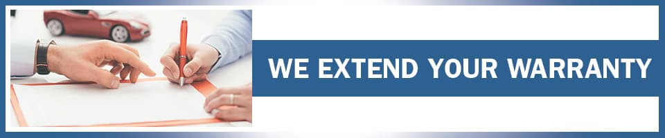 We Extend Your Warranty
