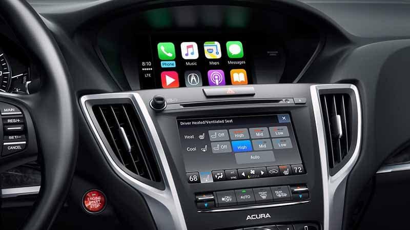 Acura TLX Apple Carplay