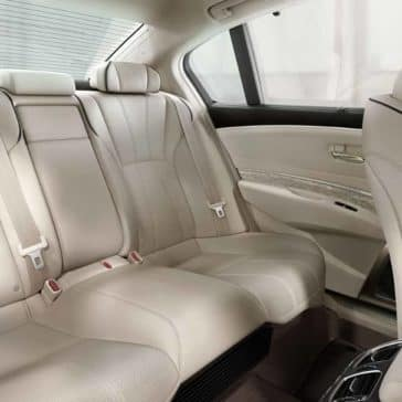 Leather seating in 2019 Acura RLX