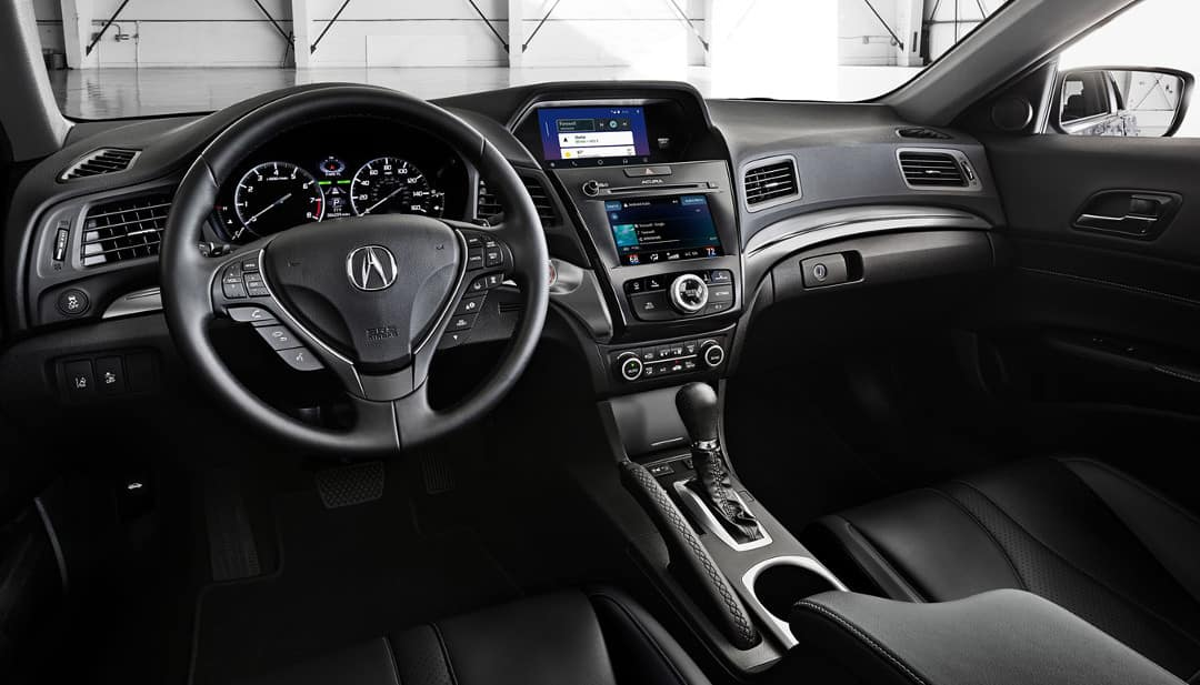 2019 Acura ILX front interior