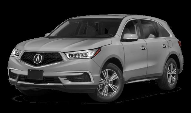 2019 Acura MDX silver