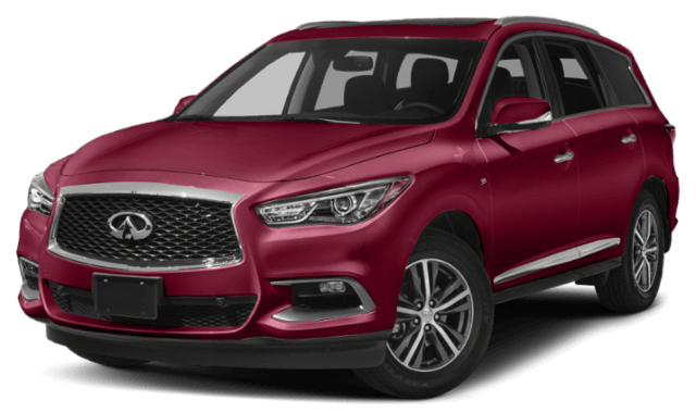 2019 INFINITI Qx60 SUV red