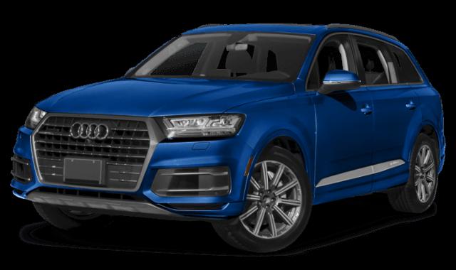2019 Audi Q7 SUV blue