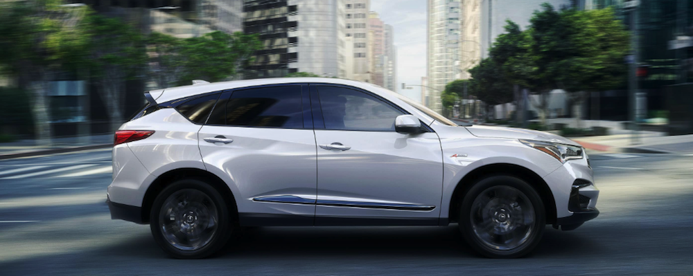 2019 Acura RDX driving in city