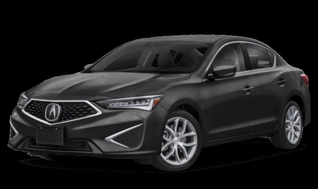 2019 Acura ILX black sedan