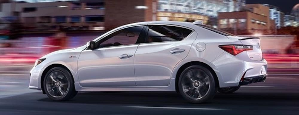 2020 acura ilx driving in city