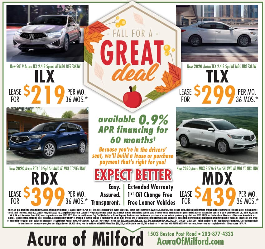 Vehicle Lease And Sale Offers