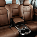2020 acura mdx interior seating brown upholstery