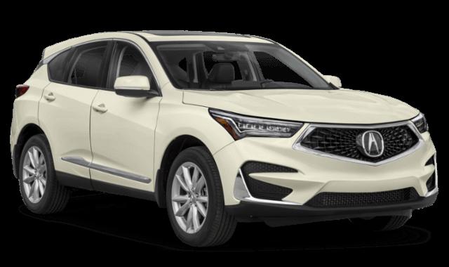 2020 Acura RDX white suv comparison thumbnail