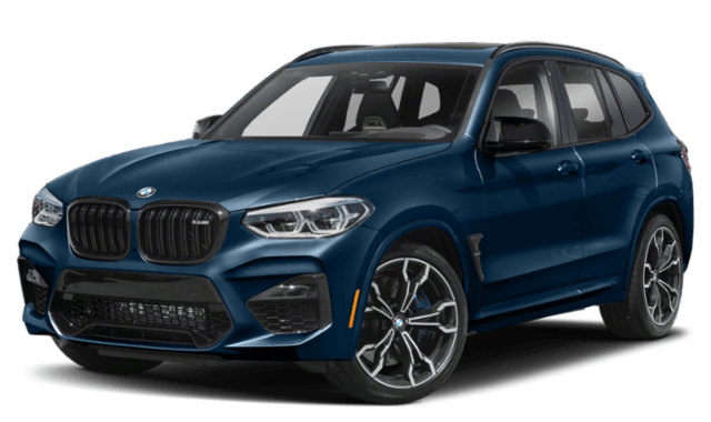 2020 BMW x3 blue SUV comparison image