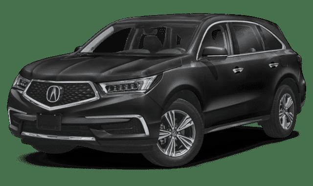 Black 2020 Acura MDX