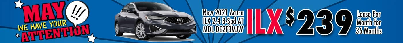 Acura ILX May 21 INV