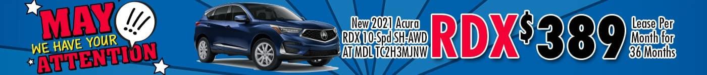 Acura RDX May 21 INV