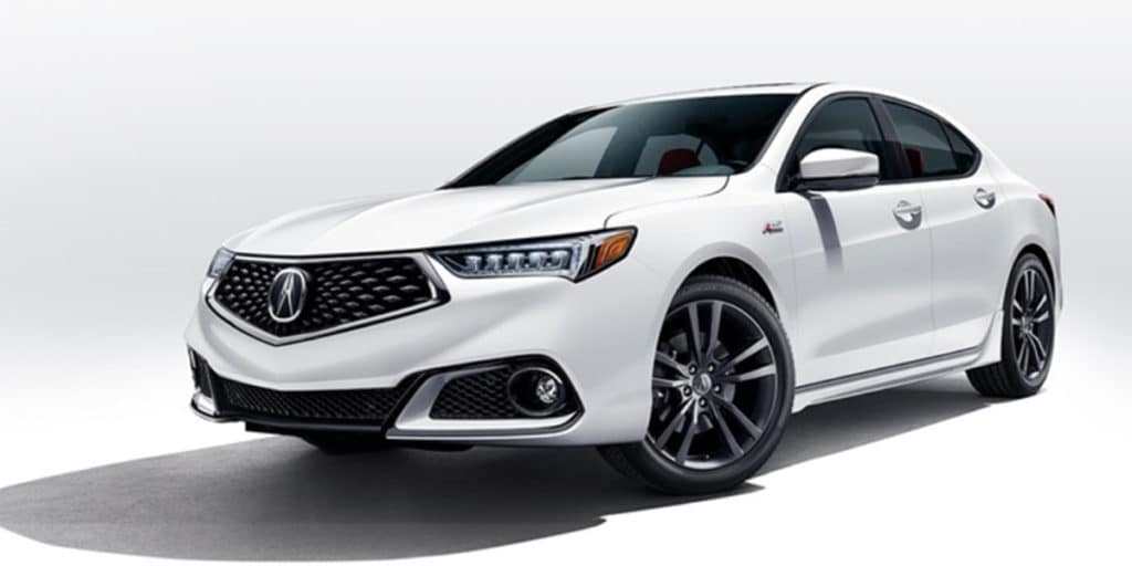 $399 per month lease 2018 Acura TLX 3.5 V6 P-AWS with A-SPEC