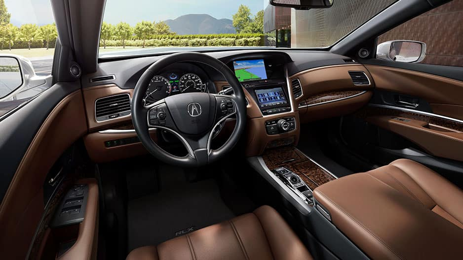 Interior Features of the New Acura RLX at Garber in Rochester, NY