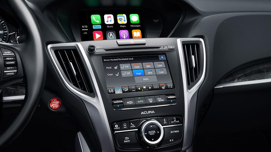 Technology Features of the New Acura TLX at Garber in Rochester, NY