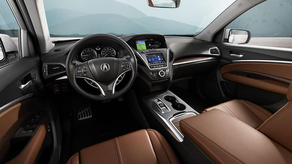 Interior Features of the New Acura MDX at Garber in Rochester, NY