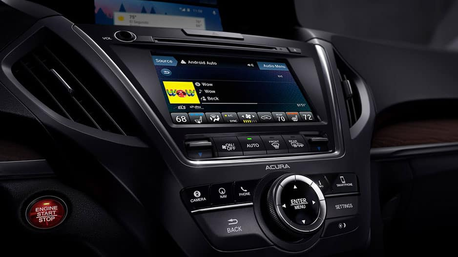Technology Features of the New Acura MDX at Garber in Rochester, NY