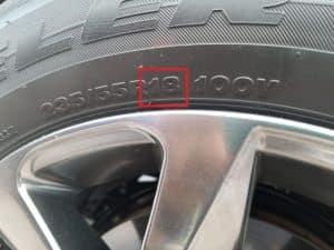 Wheel size
