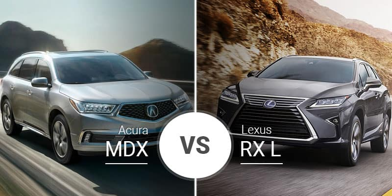 Lexus Rx Vs Acura Mdx >> Acura Mdx Vs Lexus Rx L Asian Crossover Competition