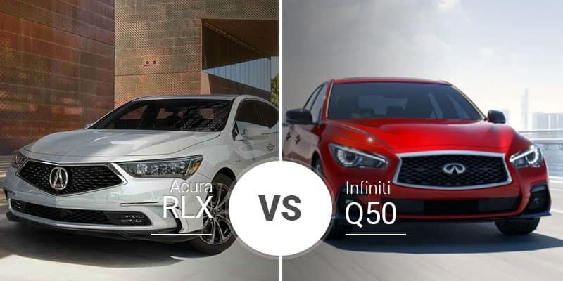 Acura RLX Vs  Infiniti Q50