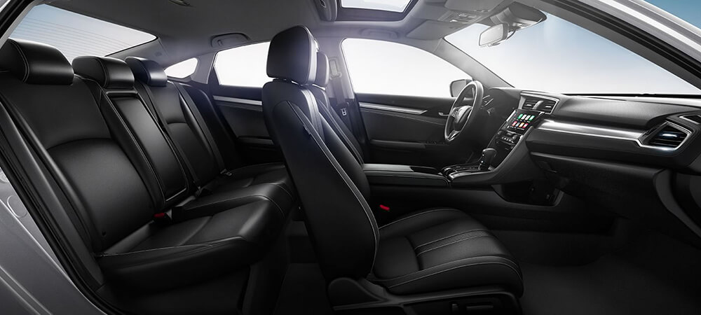 2017 Honda Civic Seats