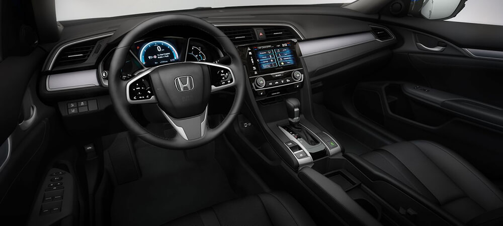 2017 Honda Civic Dash