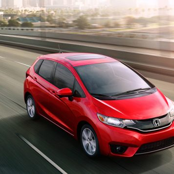 2017 Honda Fit Red