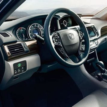 2017 Honda Accord Sedan interior