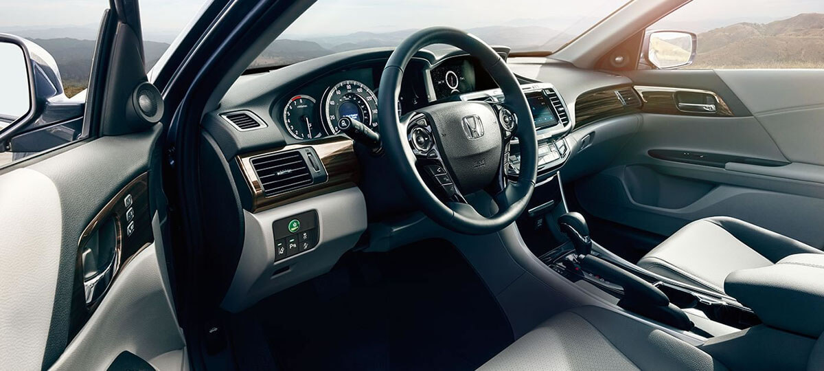 2017 Honda Accord Sedan interior