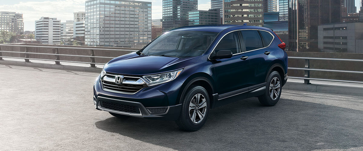 2017 honda cr-v in the city