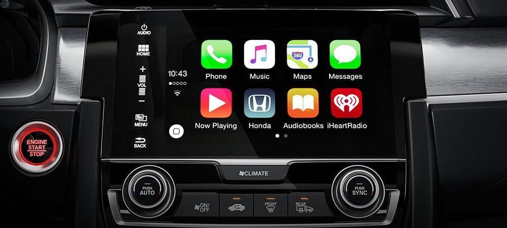 2017 Honda Civic Apple