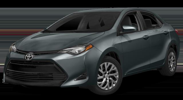 2017 Toyota Corolla Grey