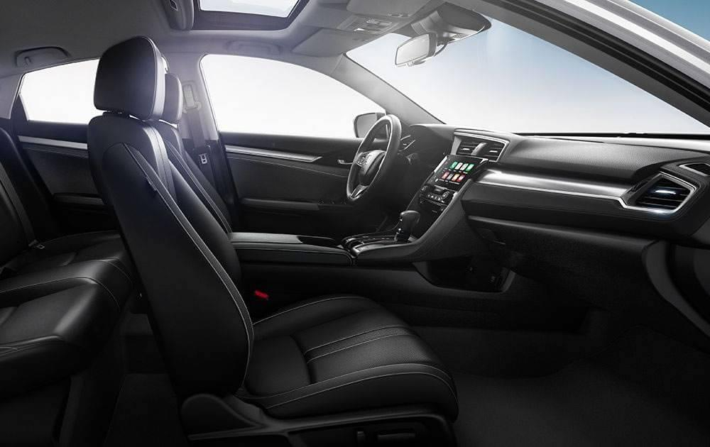 2017 Honda Civic Interior Design and Features