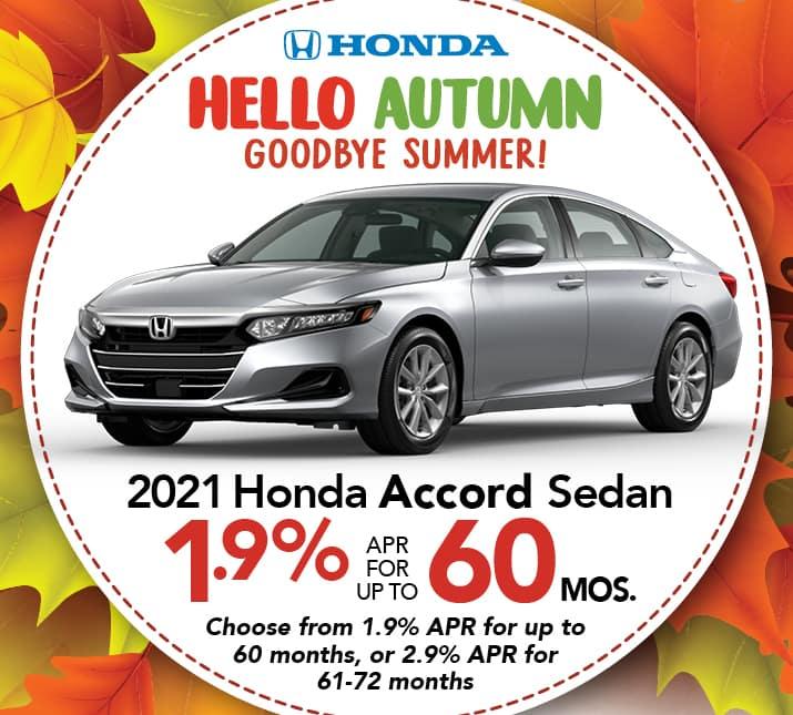 Honda Accord APR special