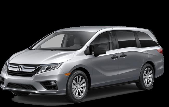 2018 Honda Odyssey white background