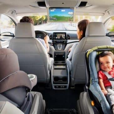 2019 Honda Odyssey interior comfort
