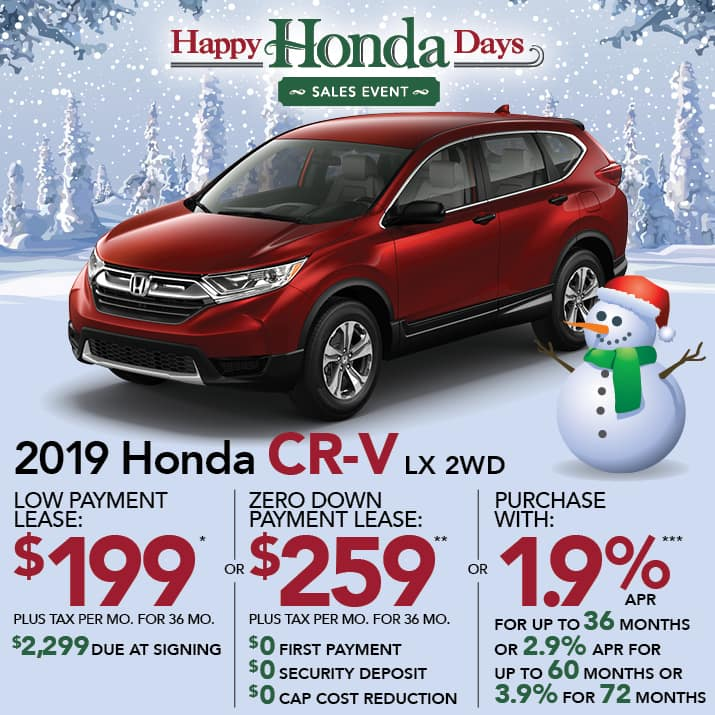 CRV specials