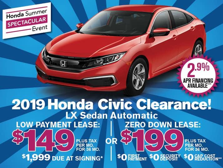 Honda Financing Rates >> New Vehicle Specials At Airport Marina Honda Honda Lease Los Angeles
